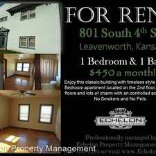 Rental info for 801 S 4th Street Unit 4