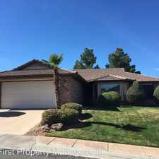 Rental info for 2154 S. Legacy Dr. in the St. George area