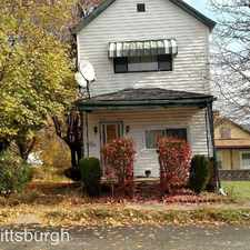 Rental info for 1603 Abraham St in the McKeesport area