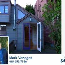 Rental info for Coldwell Banker Rentals and Real Estate Services in the Telegraph Hill area