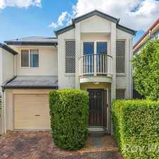 Rental info for Stylish Townhouse with Courtyard in the Brisbane area