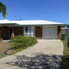 Rental info for SPACIOUS FAMILY HOME WITH DOUBLE SHED IN QUIET CUL-DE-SAC in the Bucasia area