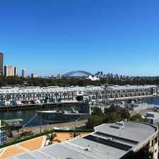 Rental info for Iconic FURNISHED Executive One Bedroom with Stunning Views in the Sydney area