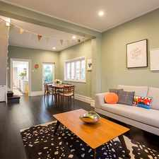 Rental info for Stylish Three Bedroom Character Home in the Sydney area