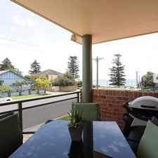 Rental info for Spectacular Location ! in the Wollongong area