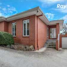 Rental info for PERFECT 3 BEDROOM DELIGHT! in the Melbourne area