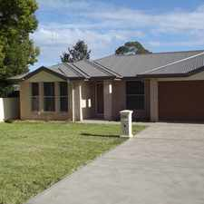 Rental info for A MUST TO INSPECT! in the Cessnock area
