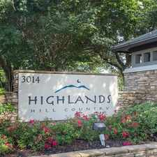 Rental info for Highlands Hill Country