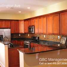 Rental info for 421 N Collington Ave in the Baltimore area