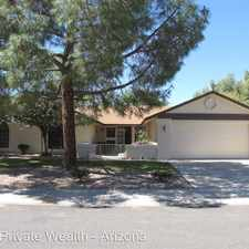 Rental info for 14135 W. Yosemite Drive