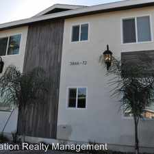 Rental info for 3866 36th Street - 3868 1/2 in the 92104 area