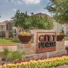 Rental info for City North at Sunrise Ranch in the Round Rock area
