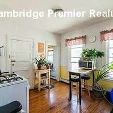 Rental info for Brookline St in the MIT area