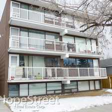 Rental info for 1612 14 Avenue SW - 1 Bedroom Apartment for Rent in the Sunalta area
