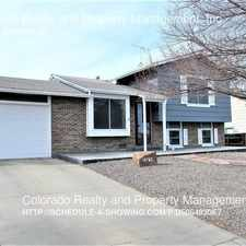 Rental info for 18762 E Colorado Dr. in the Buckley AFB area