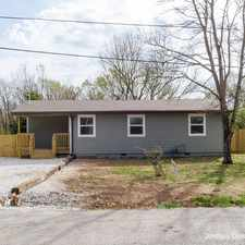 Rental info for 1545 S Duncan Avenue in the Fayetteville area