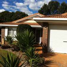 Rental info for SPACIOUS FOUR BEDROOM FAMILY FRIENDLY HOME IN POPULAR CENTENARY HEIGHTS in the Centenary Heights area