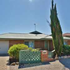 Rental info for BEAUTIFUL 3 BEDROOM HOME CLOSE TO SHOPS/PARKS in the Murray Bridge East area