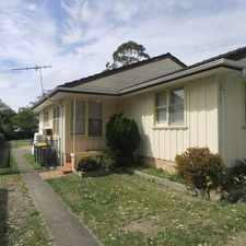 Rental info for 3 Month Lease only - Super cheap in the Engadine area