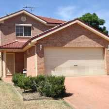 Rental info for Power saving home! With solar panels and shutters . in the Campbelltown area