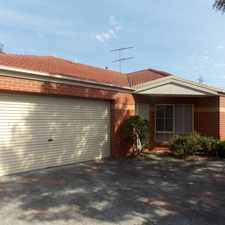 Rental info for MODERN TWO BEDROOM UNIT IN GREAT LOCATION in the Melbourne area