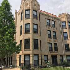 Rental info for 1110 W Balmoral #GDN in the Chicago area