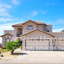 Rental info for 6015 Los Siglos Dr