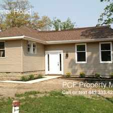 Rental info for 385 Edgewater Road