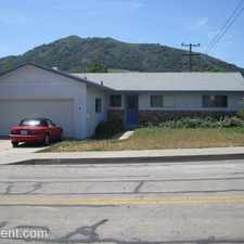 Rental info for 147 Cerro Romauldo in the San Luis Obispo area