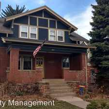 Rental info for 1011 10th Street in the University Hill area