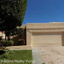 Rental info for 10353 E. Del Rey Dr. in the Fortuna Foothills area