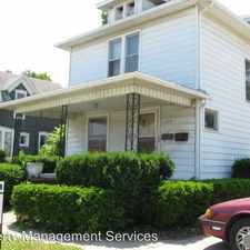 Rental info for 213 S 3rd St.