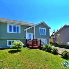 Rental info for FOR RENT -2 plus one bedroom house in Cherryhill in CBS in the St. John's area