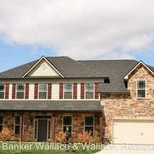 Rental info for 1104 Front Royal Lane in the Farragut area