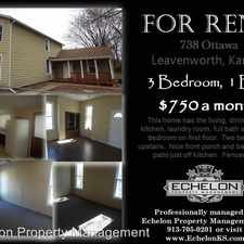Rental info for 738 Ottawa in the Leavenworth area