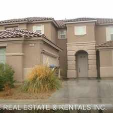 Rental info for 2305 Mountain Rail Drive in the North Las Vegas area