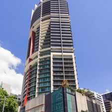 Rental info for VIEWS TO DIE FOR! BEST LOCATION IN THE CBD! ONE WEEK FREE RENT! in the Brisbane City area