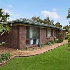 Rental info for GREAT FLOOR PLAN - GREAT FAMILY HOME in the Brisbane area