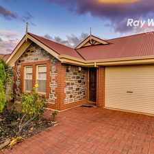 Rental info for Bluestone Fronted Classic Courtyard Home in the Adelaide area