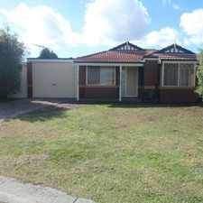 Rental info for Spacious Home in the heart of Roxburgh Park in the Roxburgh Park area