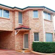 Rental info for Modern and Spacious in the Moorebank area