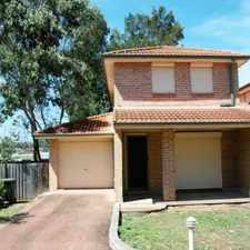 Rental info for 2 Bedroom modern Townhouse in the Sydney area