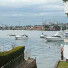 Rental info for Perfect Sydney Harbour View From Your Living Room! in the Drummoyne area
