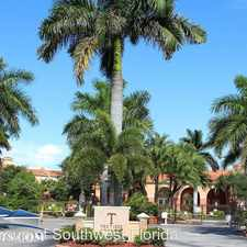 Rental info for 23540 Walden Center Drive Unit 205 in the Bonita Springs area