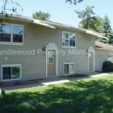 Rental info for Pet Friendly 1 Bedroom Townhouse in Stevens Point Available Now!