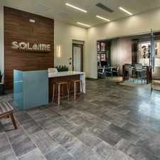 Rental info for Solaire