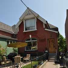 Rental info for College St & Ossington Ave in the Trinity-Bellwoods area