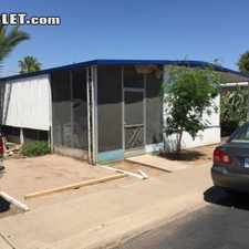 Rental info for $950 2 bedroom Mobile home in Scottsdale Area in the Tempe area