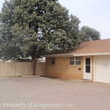 Rental info for 1602 58th Street #B in the Lubbock area