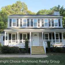 Rental info for 3812 Terjo Ln in the Chester area